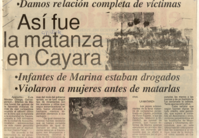 Cayara, 31 años y en el peso de la memoria
