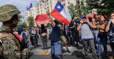 Chile: Fracasó el neoliberalismo, crisis política, violencia y el despertar popular