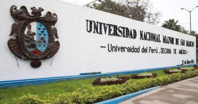Perú, El senador McCarty y el silencio sanmarquino