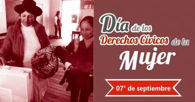 El 7 de setiembre: Un balance de la participación política de las mujeres en el Perú