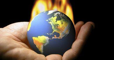 Clima de infierno y el agua que desaparece